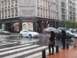 Imagen de Archivo. Lluvia en Bilbao