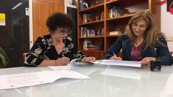 0219091f1 El Ayuntamiento de Valladolid firma dos convenios de integración social y programas  de atención psicosocial