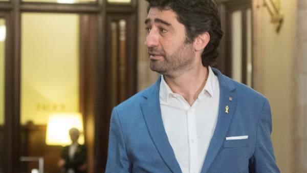 El consejero catalán, Jordi Puigneró, y sus tuits antiespañolistas.