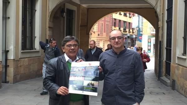 Roberto Sánchez Ramos y Carlos Barral