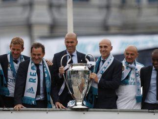 Zidane, de 'parche' a rey de Europa