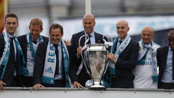Zidane, con la 13ª Champions