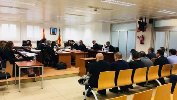 Inicio del juicio contra los empresarios Gregori y Fenoll, el pasado 4 de mayo