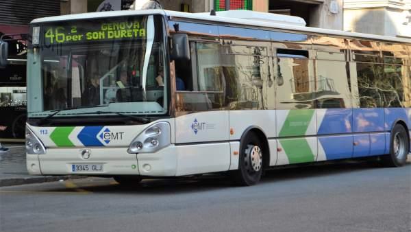 Imagen de recurso de un autobús de la EMT de Palma