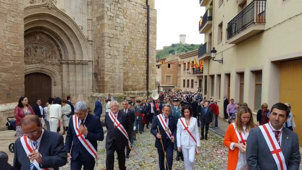 La DPZ ha participado un año más en la fiesta de los Corporales de Daroca