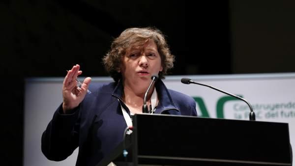 Isabel Elizalde Arretxea, consejera de Desarrollo Rural de Navarra