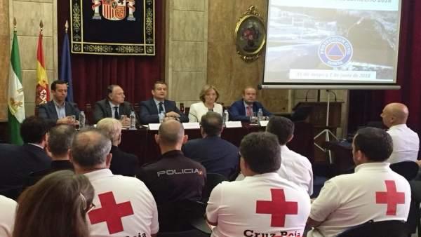 Sanz interviene en las jornadas sobre la OPE 2018 en Almería