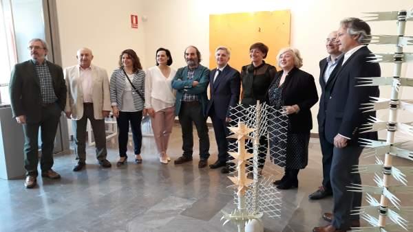 Inauguración expo DKV en Sculto en la Bene