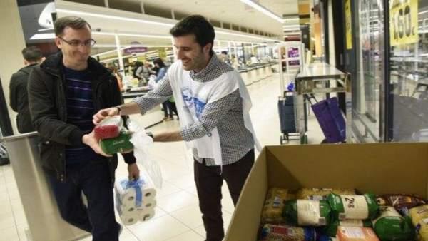 Gran Recogida de Alimentos en Málaga