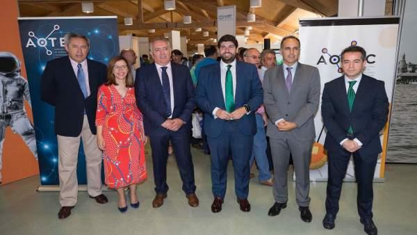 López Miras, inaugura la XII Feria Tecnológica Aotec