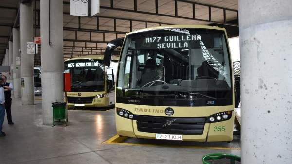 Nuevos autobuses del Consorcio