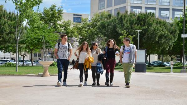 Alumnos en la Universitat Politècnica de València