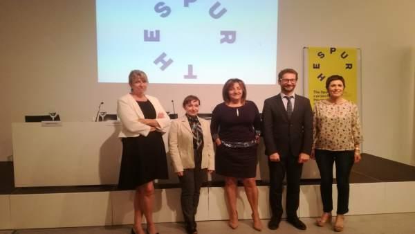 Presentación del seminario 'The Spur' en Es Baluard
