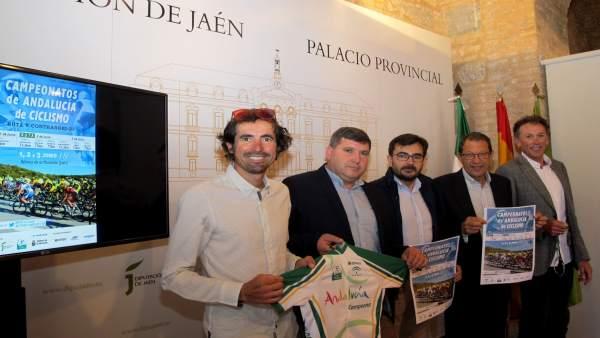 Presentación de los Campeonatos de Andalucía