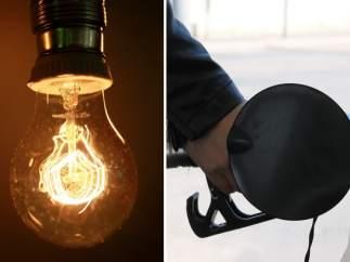 Luz y gasolina