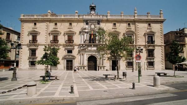 Sede del TSJA y Audiencia Provincial de Granada