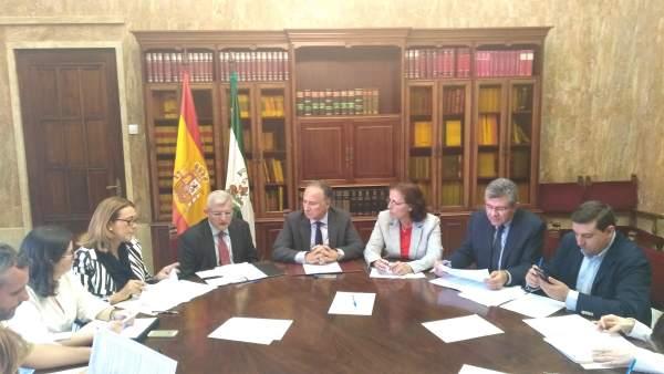 Reunión del PFEA en Almería