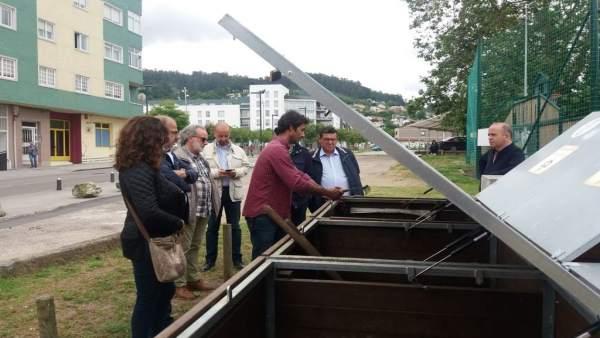 Una delegación de la Diputación de Baadjoz visita Pontevedra