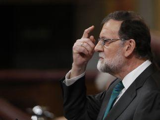 Rajoy interviene en la moción