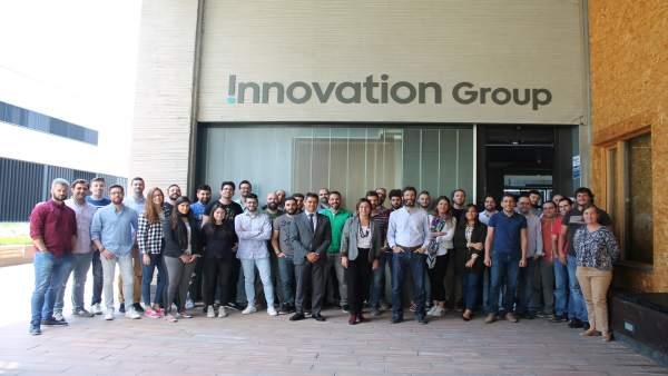 Visita de la alcaldesa a Innovation Group
