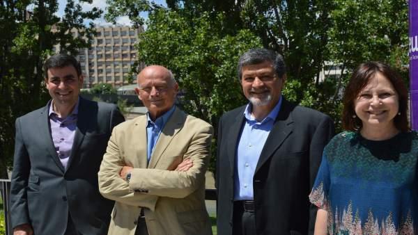 Iquel Rey, Jaume Ferrús, Gabriel Anzaldi y Anna Pàmies