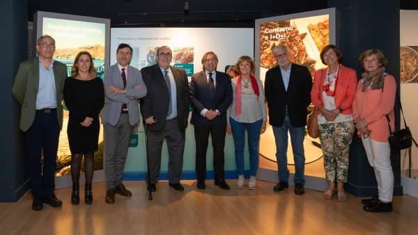 Clausura la exposición de acuicultura en el Museo Marítimo
