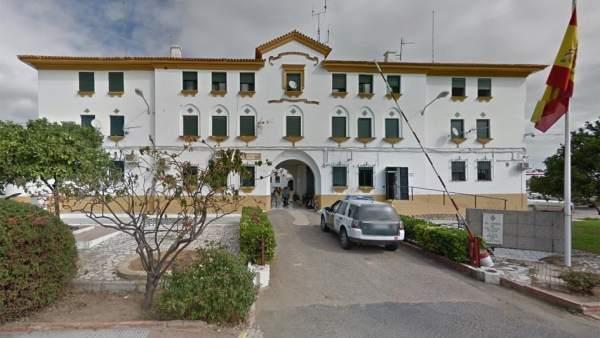 Cuartel de la Guardia Civil en Ayamonte (Huelva).