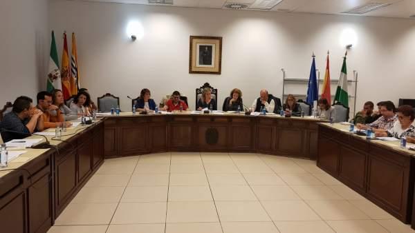 Pleno del Ayuntamiento de Isla Cristina.