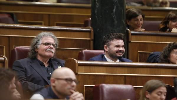 """Tardá apoya a Rivera porque es """"un no"""" para Rajoy."""