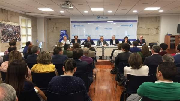 Comité ejecutivo del PP de Pontevedra