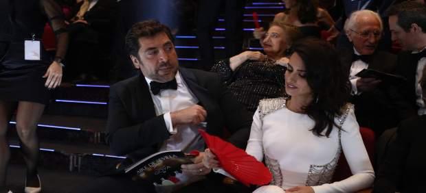 Penélope Cruz y Javier Bardem en los Goya 2018