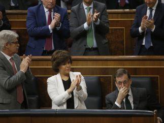 Emoción de Rajoy en su despedida