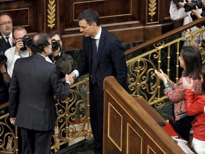 Rajoy felicita a Sánchez
