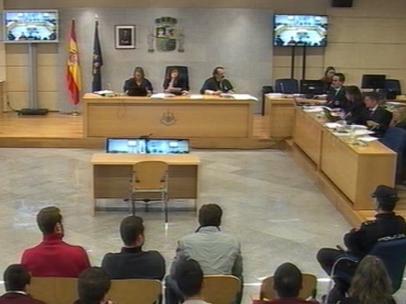 AN condena a entre 2 y 13 años de prisión a los ocho acusados de Alsasua