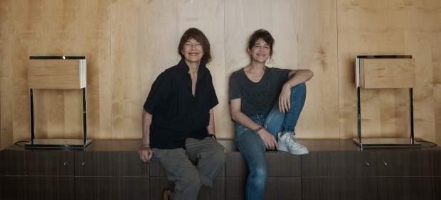 Jane Birkin y Charlotte Gainsburg en Barcelona, con motivo del Primavera Sound
