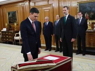 Toma de posesión de Pedro Sánchez