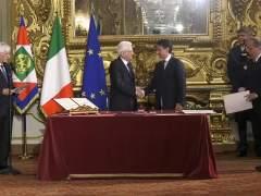 El nuevo Gobierno de Italia toma posesión
