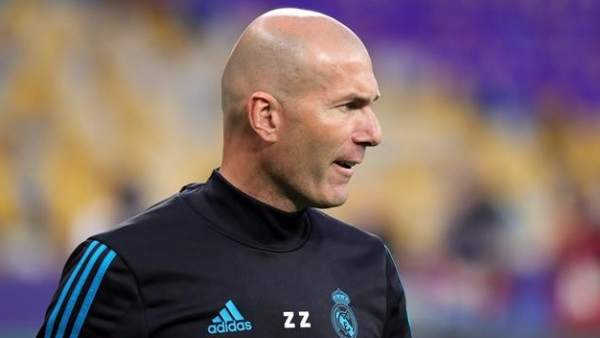 Zidane, exentrenador del Real Madrid.