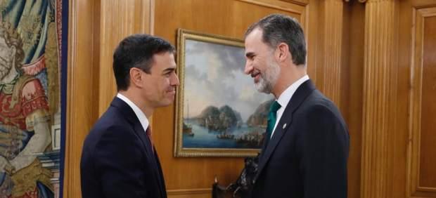 Pedro Sánchez promete ante el Rey su cargo como Presidente del Gobierno