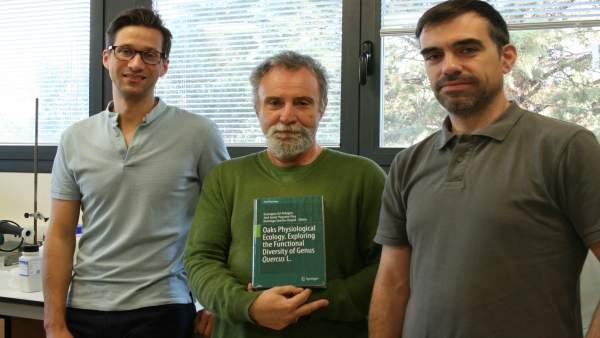 Libro 'Oaks Physiological ecology'.