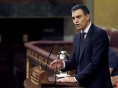Sánchez se somete a su primera sesión de control en el Congreso