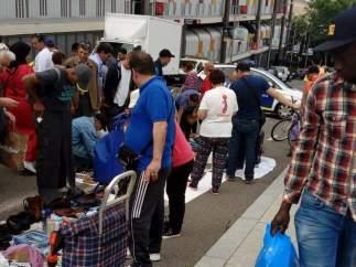 La tasa de riesgo de pobreza baja ligeramente, pero sigue afectando a uno de cada cinco españoles