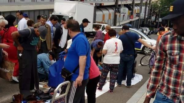 Imagen del mercado de la miseria