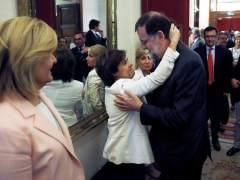 Rajoy y Sáenz de Santamaría.