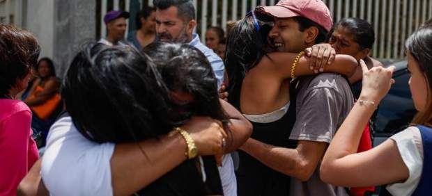 Presos liberados en Venezuela