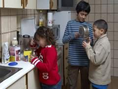 La pobreza infantil es hereditaria