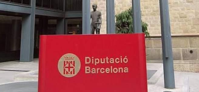 Fachada de la Diputación de Barcelona.