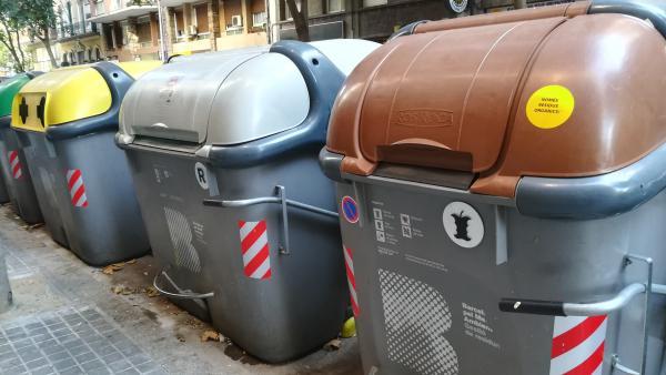 Contenedores de la ciudad de Barcelona