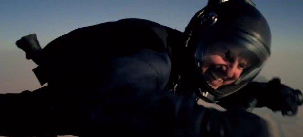 Tom Cruise salto halo Misión Imposible