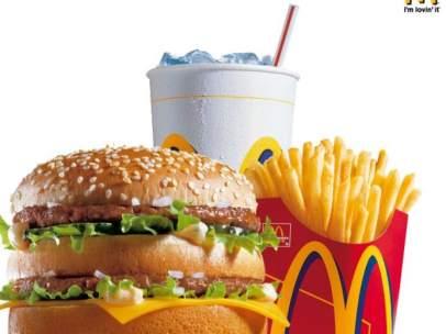 Comida de McDonald's